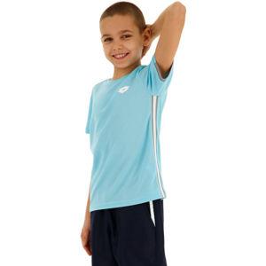 Lotto SQUADRA B TEE PL kék XS - Fiú teniszpóló