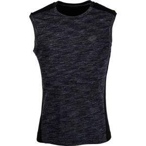 Lotto TRNG TEE MRB SL CO fekete XL - Férfi póló