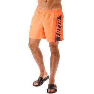 Lotto LOGO SHORT BEACH NY narancssárga L - Férfi rövidnadrág