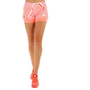 Lotto TOP TEN W SHORT PRT PL narancssárga XS - Női tenisz short