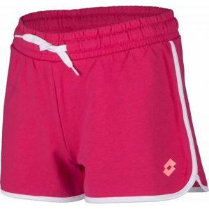 Lotto DOLLY VI SHORT JS G rózsaszín L - Lány rövidnadrág