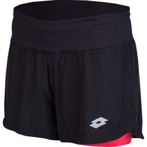 Lotto TRINA fekete L - Női sportos rövidnadrág