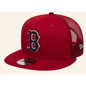 New Era 9FIFTY MLB ESSENTIAL A FRAME BOSTON RED SOX TRUCKER CAP piros M/L - Férfi trucker sapka