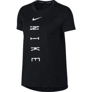 Nike TOP RUN GX fekete XS - Női sportpóló