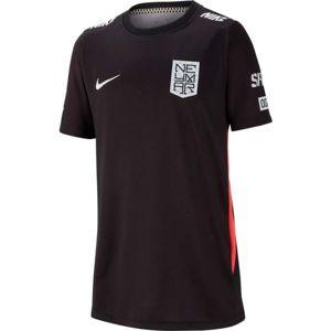 Nike NYR B NK DRY TOP SS fekete L - Fiú póló