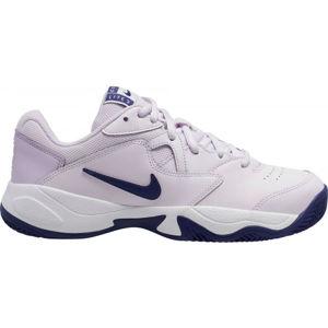 Nike COURT LITE 2 CLAY rózsaszín 6.5 - Női tenisz cipő