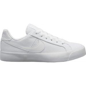 Nike COURT ROYALE AC CANVAS fehér 7 - Női szabadidőcipő