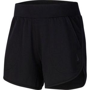 Nike YOGA SHORT W fekete L - Női rövidnadrág