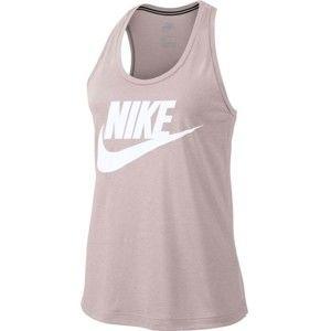 Nike ESSNTL TANK HBR W világos rózsaszín XL - Női ujjatlan felső