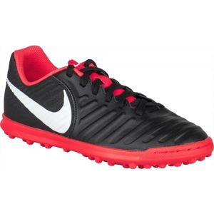 Nike JR TIEMPO LEGENDX 7 TF fekete 5.5 - Gyerek turf futballcipő