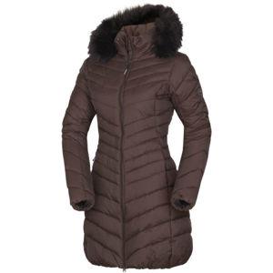 Northfinder VONILA barna XS - Női hosszú kabát