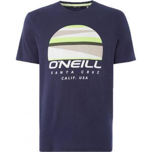 O'Neill LM SUNSET LOGO T-SHIRT sötétkék XL - Férfi póló