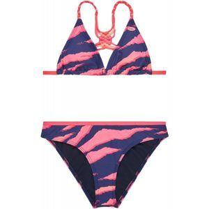 O'Neill PG MACRAME BIKINI rózsaszín 128 - Kétrészes lány fürdőruha