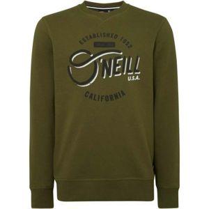 O'Neill LM MUGU CALI CREW sötétzöld XL - Férfi pulóver