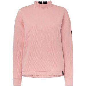 O'Neill LW ARALIA QUILTED CREW világos rózsaszín L - Női pulóver