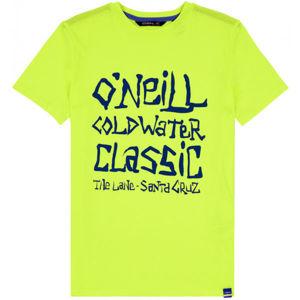 O'Neill LB COLD WATER CLASSIC T-SHIRT fekete 176 - Fiús póló