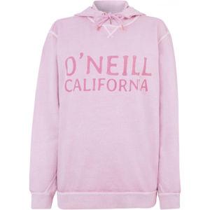 O'Neill LW ADRIA HOODIE világos rózsaszín M - Női pulóver