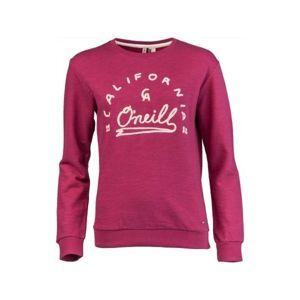 O'Neill LW LOGO DRIVER SWEATSHIRT borszínű L - Női pulóver