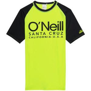 O'Neill PB CALI S/SLV SKINS sárga 4 - Fiú póló