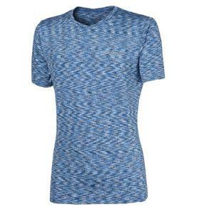 Progress SS MELANGE MAN T-SHIRT kék L - Férfi sportos póló