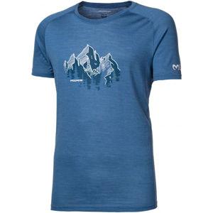 Progress TASMAN kék XL - Férfi merinó póló
