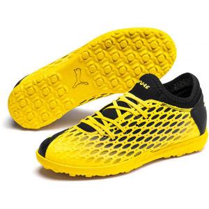 Puma FUTURE 5.4 TT JR fekete 13 - Gyerek turf cipő