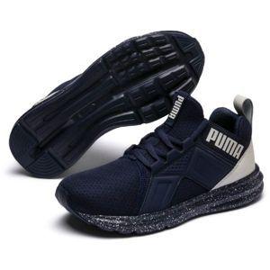 Puma ENZO TECH JR fekete 5 - Gyerek utcai cipő