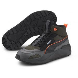 Puma X-RAY 2 SQUARE MID WTR fekete 9.5 - Férfi szabadidőcipő