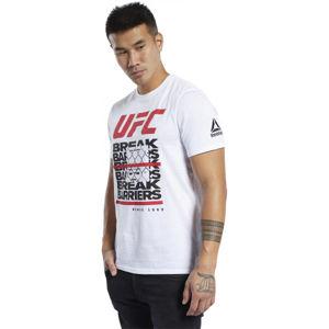 Reebok UFC FG CAPSULE T fehér S - Férfi póló