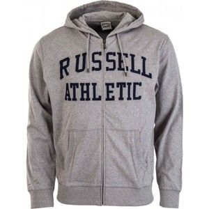 Russell Athletic TRANSFER PRINT HOODY FULL ZIP - Férfi pulóver  Russell Athletic