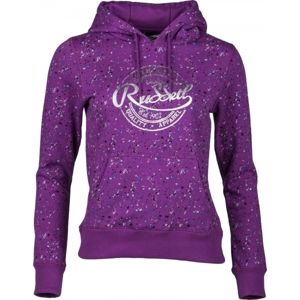 Russell Athletic HOODED SWEAT WITH ALLOVER PRINT - Női pulóver