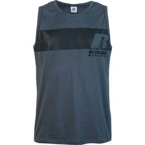Russell Athletic SPEED SINGLET SCAMPOLO sötétkék L - Férfi ujjatlan póló