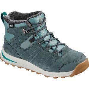 Salomon UTILITY TS CSWP J kék 31 - Gyerek téli cipő