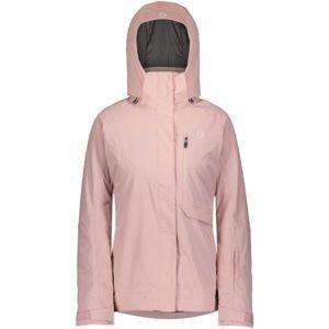 Scott ULTIMATE DRYO 10 W JACKET rózsaszín XS - Női síkabát