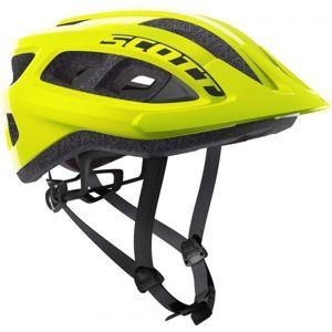 Scott SUPRA sárga (54 - 61) - Kerékpáros sisak