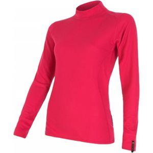 Sensor DOUBLE FACE EVO DR W rózsaszín L - Női funkcionális póló