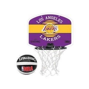Spalding NBA MINIBOARD LA LAKERS sárga NS - Kosárpalánk