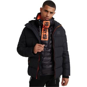 Superdry TAPED SPORTS PUFFER fekete XL - Férfi kabát