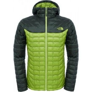The North Face THERMOBALL HOODIE M zöld XL - Férfi dzseki