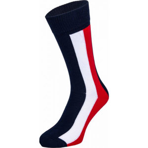 Tommy Hilfiger MEN ICONIC GLOBAL SOCK 1P fekete 39-42 - Férfi zokni