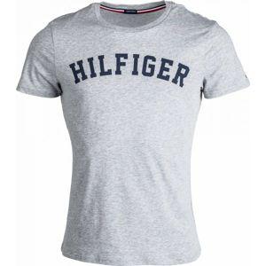Tommy Hilfiger SS TEE LOGO sötétkék M - Férfi póló