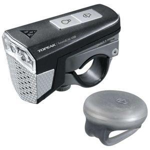 Topeak SOUNDLITE USB - Elülső lámpa kerékpárra