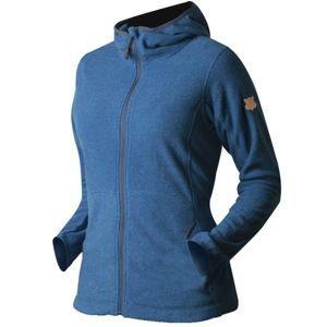TRIMM NEONA kék M - Női flecce pulóver