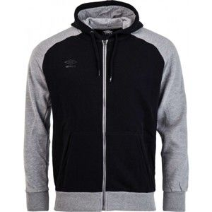 Umbro HOODED FULL ZIP JACKET - Férfi pulóver