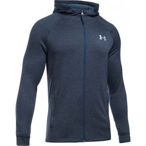 Under Armour TECH TERRY FITTED FZ HOODIE - Férfi pulóver