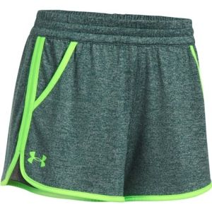 Under Armour TECH SHORT 2.0 TWIST zöld M - Női rövidnadrág
