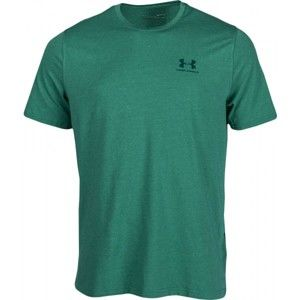 Under Armour CC LEFT CHEST LOCKUP zöld XXL - Férfi póló