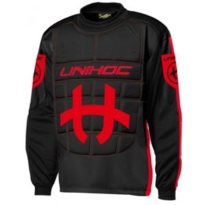 Unihoc GOALIE SWEATER SHIELD JR  130 - Junior floorball kapus mez