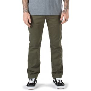 Vans M AUTHENTIC CHINO STRETCH HOSE zöld 30x30 - Férfi nadrág