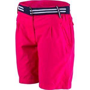 Willard ADENIKE rózsaszín 40 - Női vászon rövidnadrág